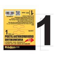 Postilaatikkonumero / -kirjain - Postilaatikon numero 1