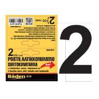 Postilaatikkonumero / -kirjain - Postilaatikon numero 2
