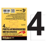 Postilaatikkonumero/kirjain - Postilaatikon numero 4
