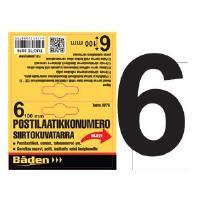 Postilaatikkonumero/kirjain - Postilaatikon numero 6