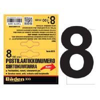 Postilaatikkonumero/kirjain - Postilaatikon numero 8