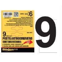 Postilaatikkonumero/kirjain - Postilaatikon numero 9