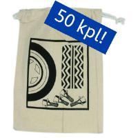 Pulttien säilytyspussi 50 kpl (kangas)