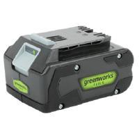 Akkukäyttöinen pensasleikkuri 24 V + laturi, GreenWorks - Akku 24 V 4 Ah Li-Ion