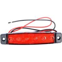 LED-äärivalo 24 V | punainen, JOL