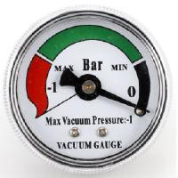 Paineilmakäyttöinen jäteöljyn poistoyksikkö 30 l, Meganex - Imupainemittari