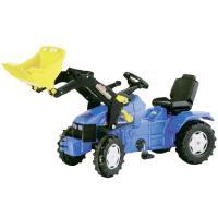 New Holland TM155 -polkutraktori etukuormaajalla, Rolly Toys