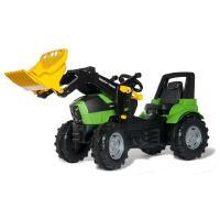 Deutz Agrotron 7250 TTV-polkutraktori etukuormaajalla, Rolly Toys