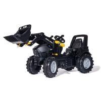 Deutz Agrotron 7250 TTV Warrior-polkutraktori etukuormaajalla, Rolly Toys
