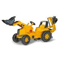 CAT-polkutraktori etukuormaajalla ja kaivurilla, Rolly Toys