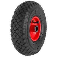 Nokkakärry jalkanostimella, Ravendo - Ilmakumipyörä 3,00 x 4/2 (täydellinen)