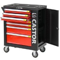 Työkaluvaunu Pro XL, Castor