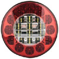 Led-takavalo 10-30V pyöreä, sumu/peruutus, CRX
