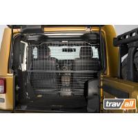 Koiraverkko autoon - Jeep Wrangler 2-ov (2011->), Travall