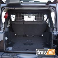 Koiraverkko autoon - Jeep Wrangler Unlimited 4d (2006-2017), Travall