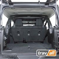 Koiraverkko autoon - Jeep Wrangler 4-ov (JL, 2017->), Travall
