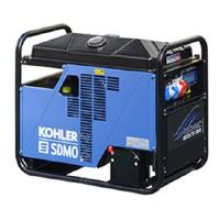 Aggregaatti Technic 15000TE AVR, 230 V & 400 V / 3,7 kW & 11,5 kW - SDMO