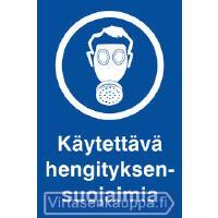 OPASTE 200X300 KÄYTETTÄVÄ HENGITYKSENSUOJAIMIA,MUO