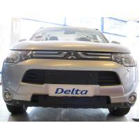 Maskisuoja Mitsubishi Outlander, myös PHEV-malli (vm. 2013-2015), Tammer-Suoja