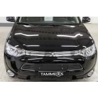 Maskisuoja Mitsubishi Outlander PHEV (2013 - 2015), Tammer-Suoja