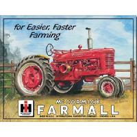 "Kyltti ""Farmall for easier, faster farming"""
