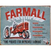 "Kyltti ""Farmall, time-proved for improved farming"""