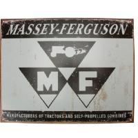 Kyltti Massey Ferguson-logolla