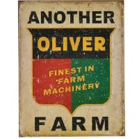"Kyltti ""Another Oliver farm"""