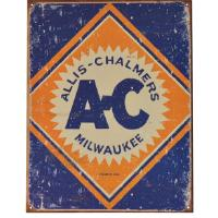 Kyltti Allis-Chalmers-logolla
