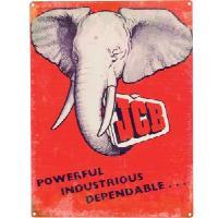 "Kyltti ""JCP elephant"""