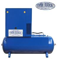 Ruuvikompressori 7,5 kW / 500 l, Twin Busch