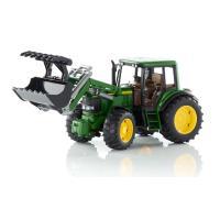 Lelu Traktori John Deere 6920 etukuormaajalla (1:16), Bruder