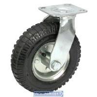 Vaununpyörä, 200 mm - kääntyvä, ilmakumi